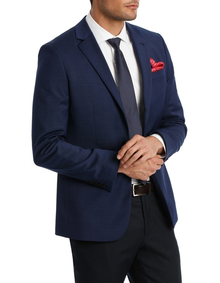 Tailored Textured Suit Jacket image 3