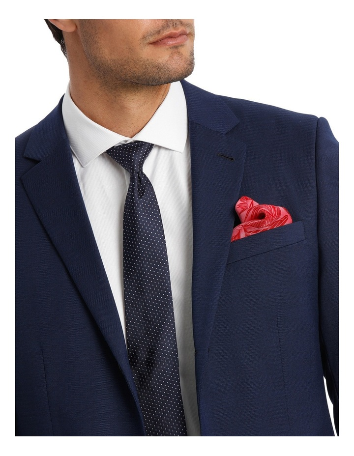 Tailored Textured Suit Jacket image 7