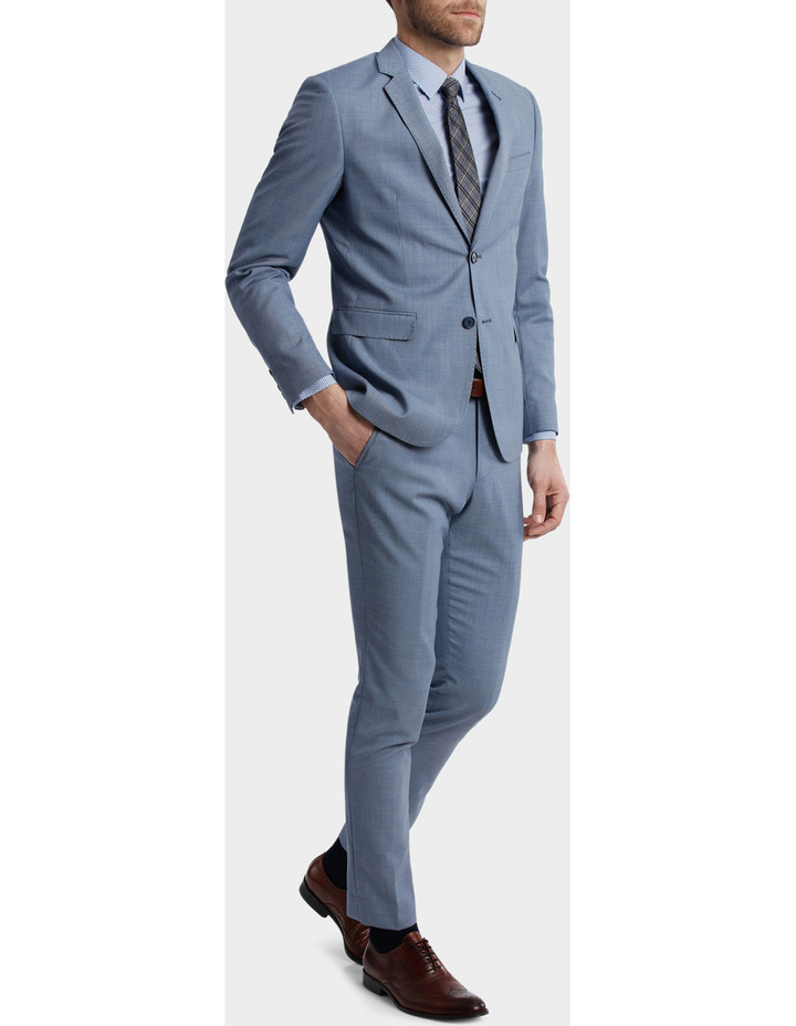 BLAQ Slim Sharkskin Suit Jacket image 2