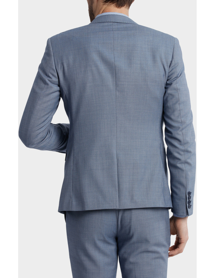 BLAQ Slim Sharkskin Suit Jacket image 3