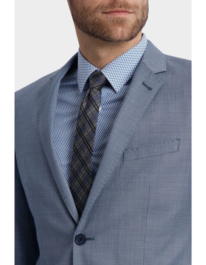 BLAQ Slim Sharkskin Suit Jacket image 4