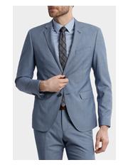 Blaq Slim - BLAQ Slim Sharkskin Suit Jacket