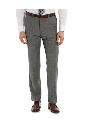 Trent Nathan - TRENT NATHAN TN-152-21 WINDOWPANE CHECK SUIT TROUSER