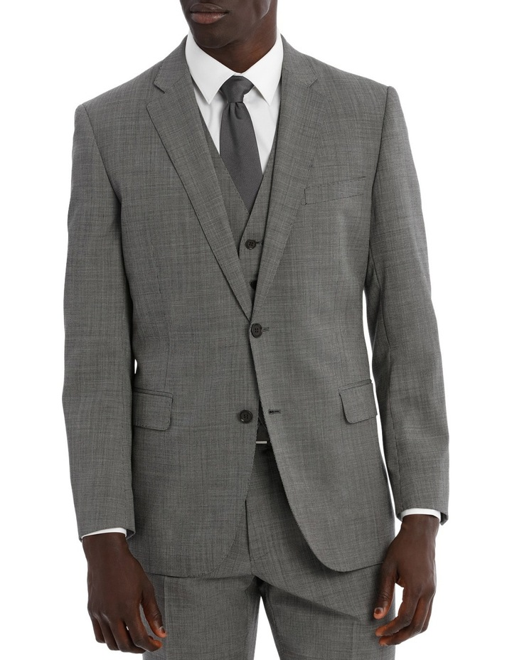 Classic Fit Textured Suit Jacket image 1