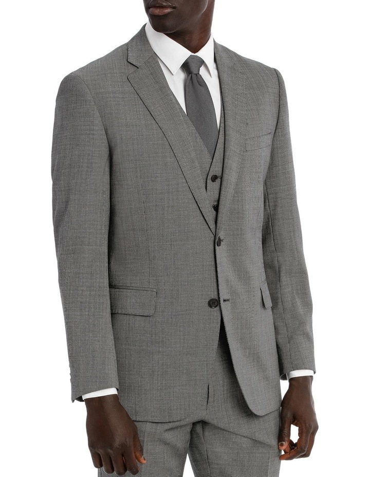 Classic Fit Textured Suit Jacket image 2