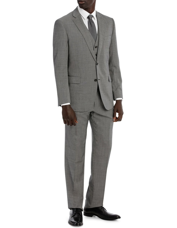 Classic Fit Textured SUIT TROUSER image 5