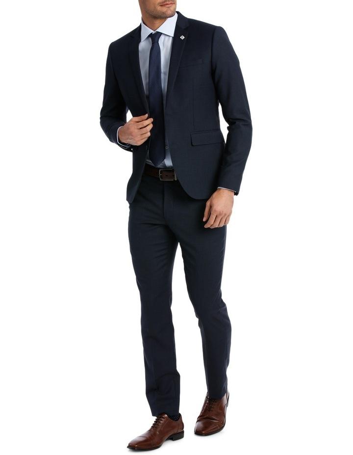 Slim Fit Birdseye Suit Jacket image 2