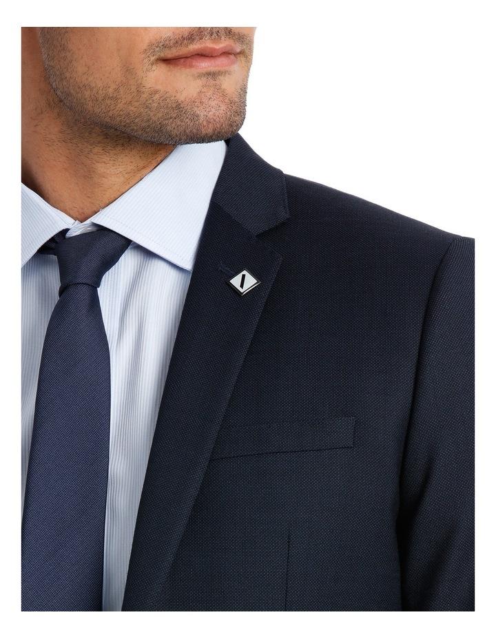 Slim Fit Birdseye Suit Jacket image 4