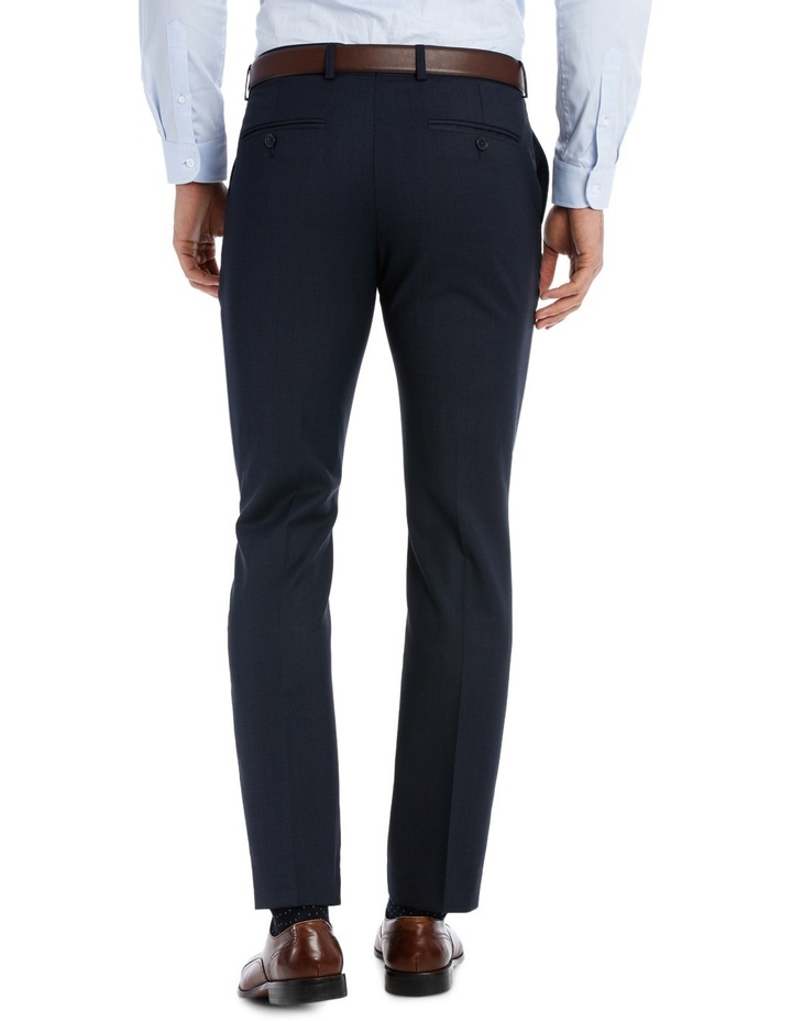 Slim Fit Birdseye Suit Trouser image 3