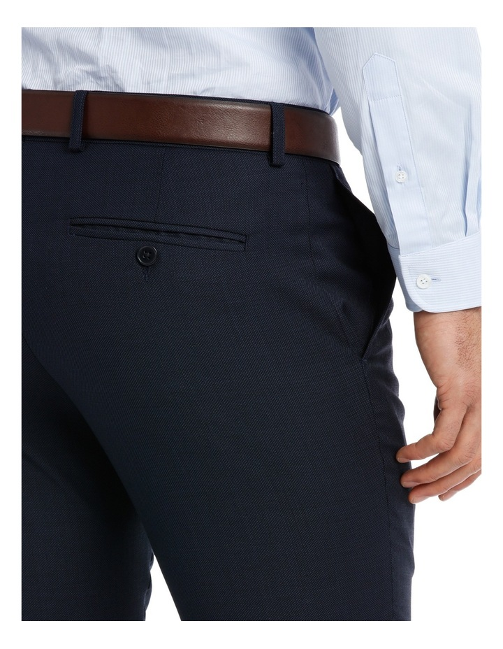Slim Fit Birdseye Suit Trouser image 4