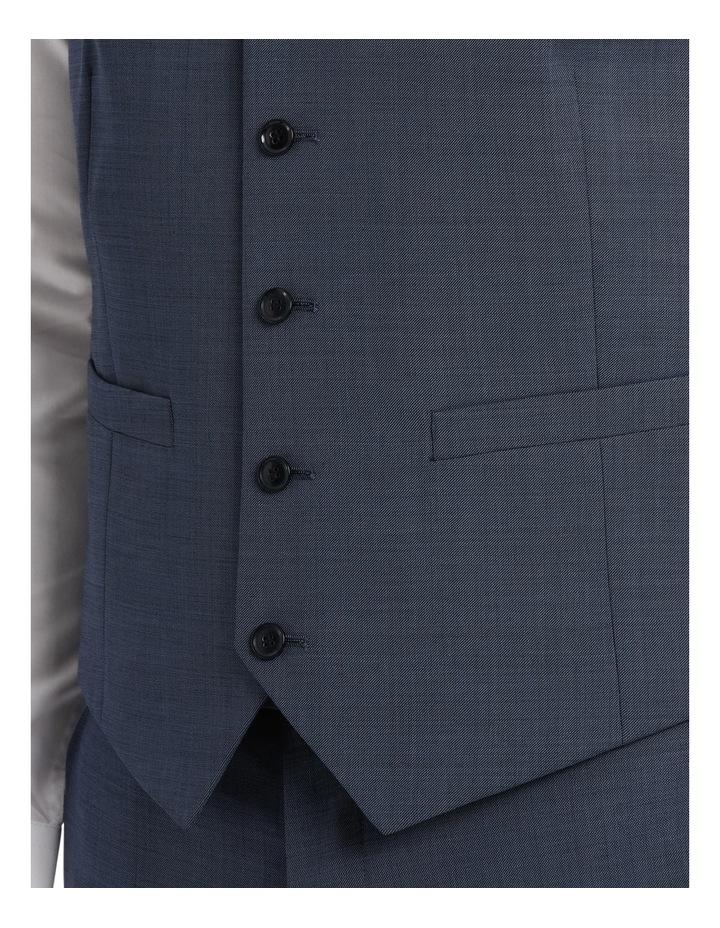 Slim Fit Sharkskin Waistcoat image 4