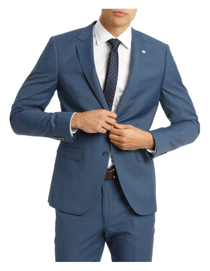 Slim Fit Sharkskin Suit Jacket image 1