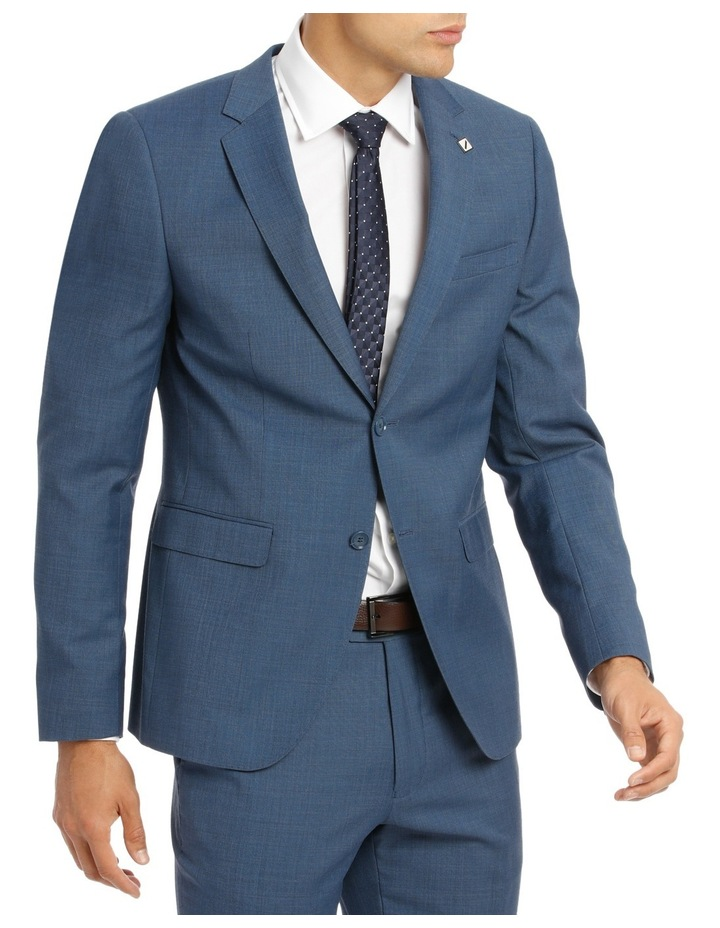 Slim Fit Sharkskin Suit Jacket image 2