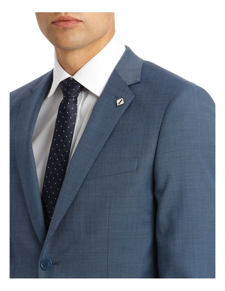 Slim Fit Sharkskin Suit Jacket image 4