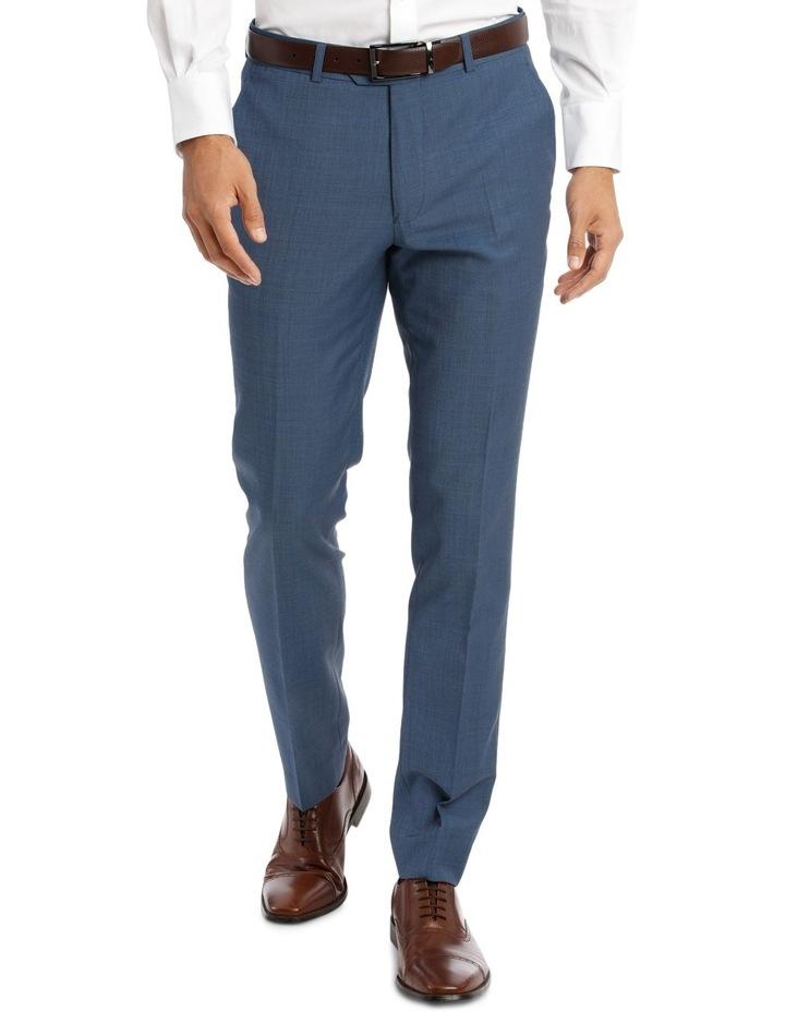 Slim Fit Sharkskin Suit Trouser image 1