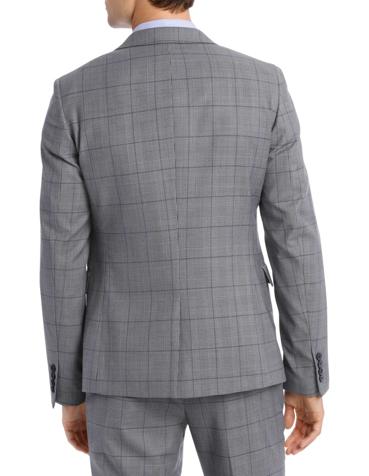 Grey Check Suit Jacket BSW19008J image 3