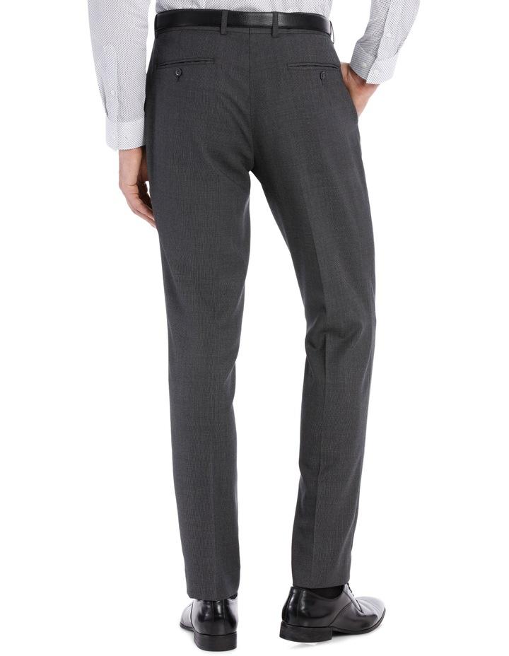 Grey Birdseye Suit Trouser image 5