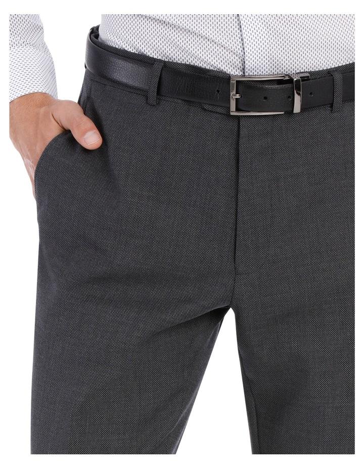 Grey Birdseye Suit Trouser image 7