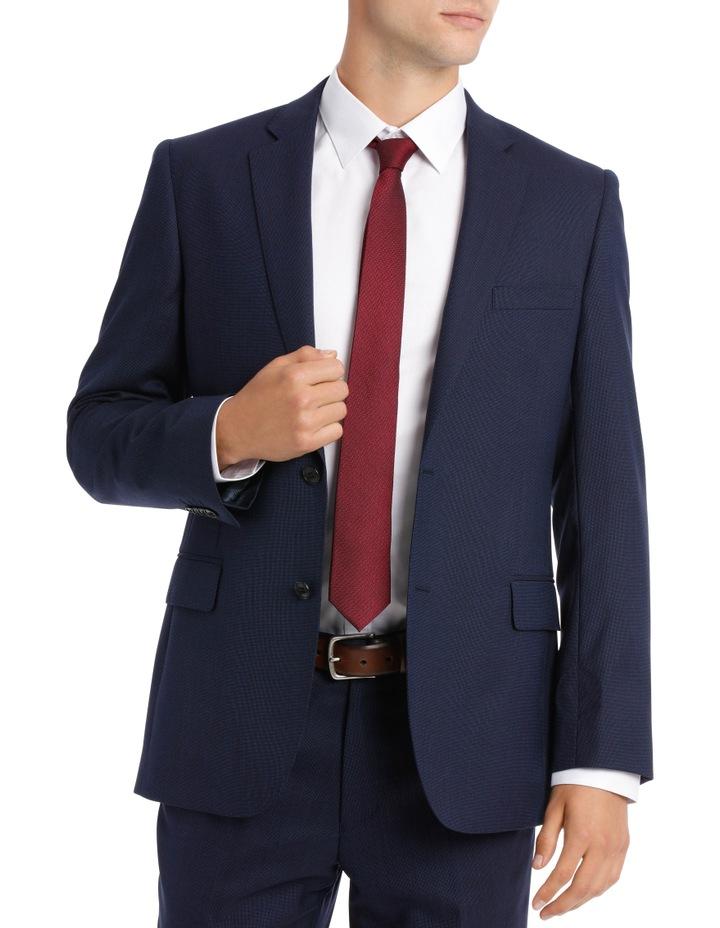 Navy Neat Suit Jacket image 1