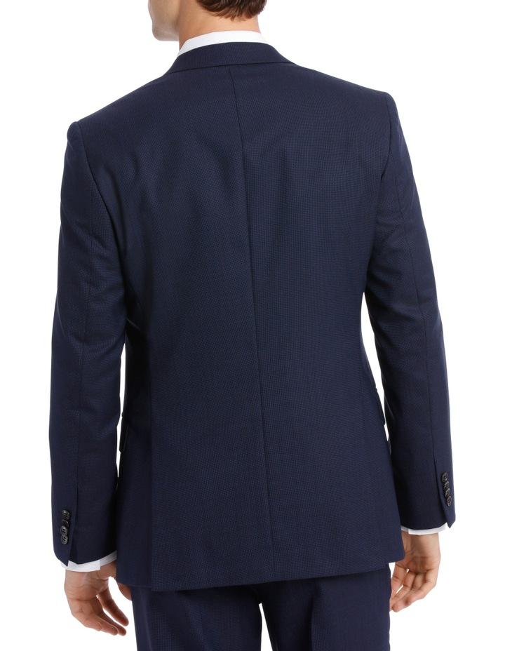 Navy Neat Suit Jacket image 5