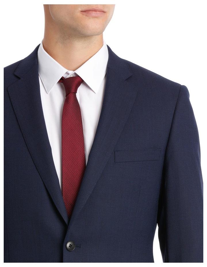 Navy Neat Suit Jacket image 7