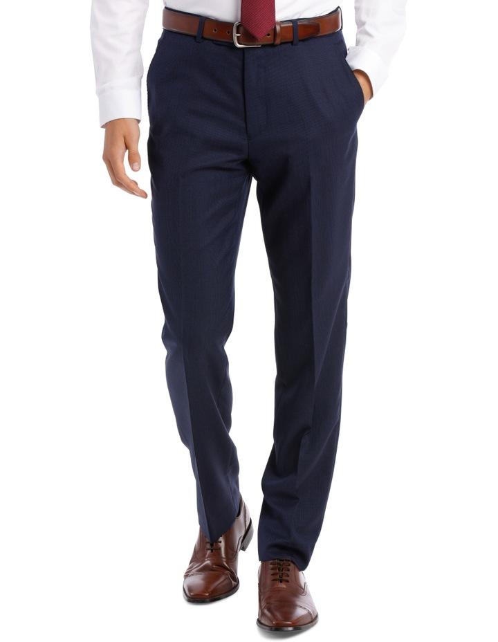 Navy Neat Suit Trouser image 1