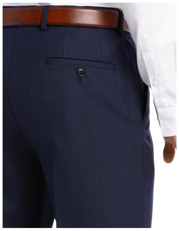 Navy Neat Suit Trouser image 7