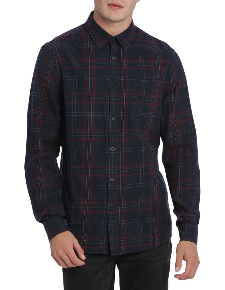 Samuel Long Sleeve Flannel Check Shirt image 1