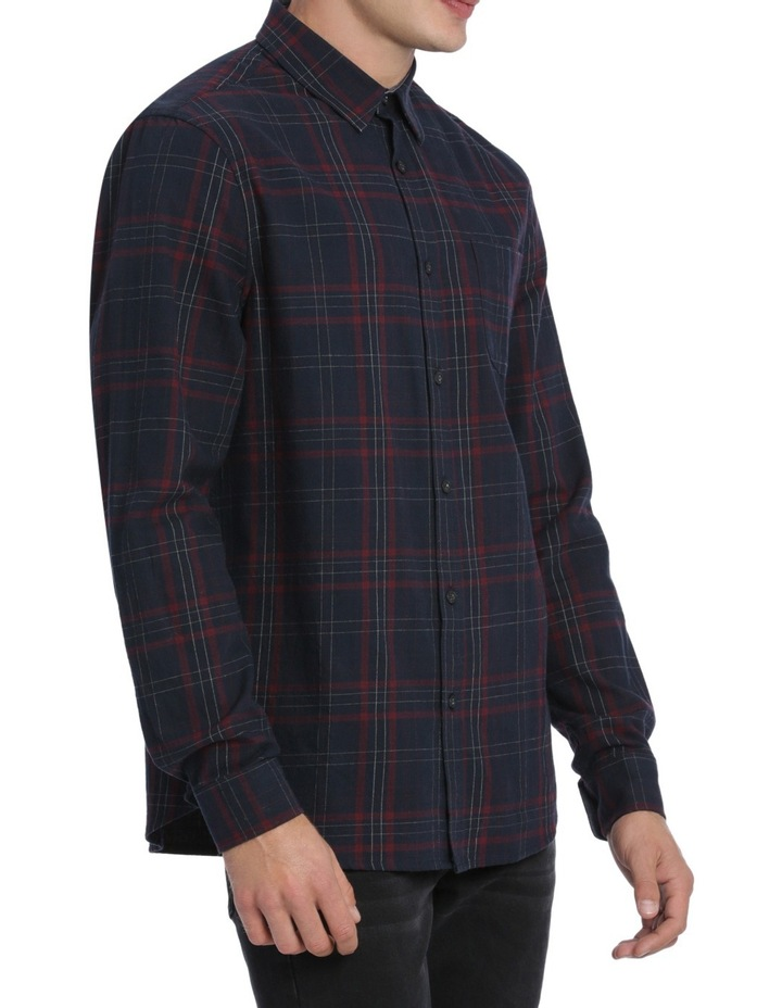 Samuel Long Sleeve Flannel Check Shirt image 2