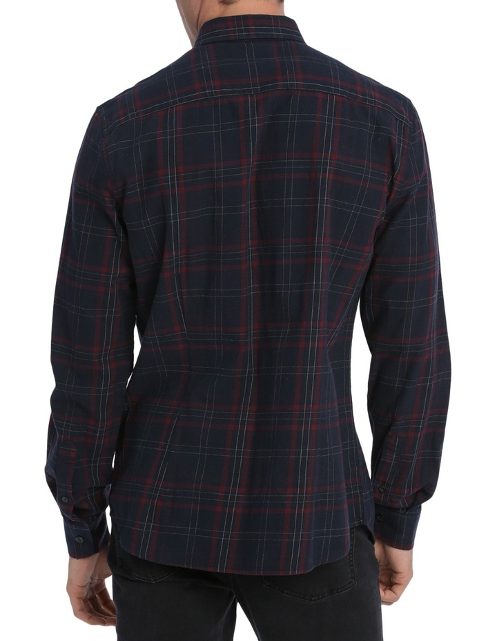 Samuel Long Sleeve Flannel Check Shirt image 3