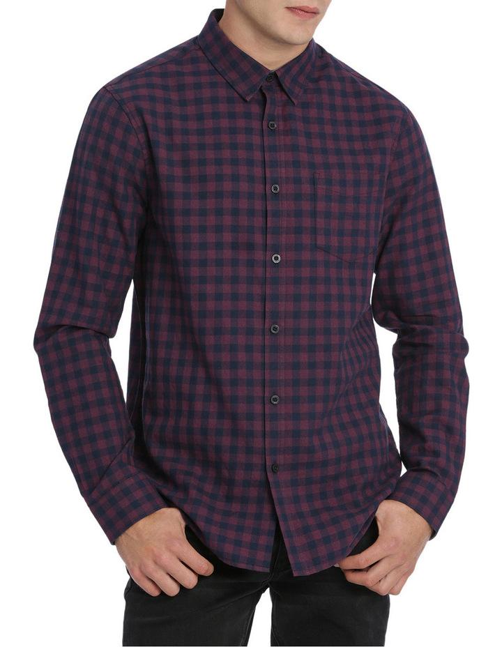 Alex Long Sleeve Flannel Check Shirt image 1