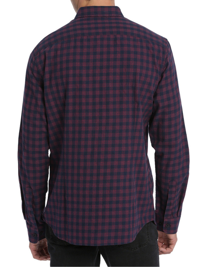 Alex Long Sleeve Flannel Check Shirt image 3