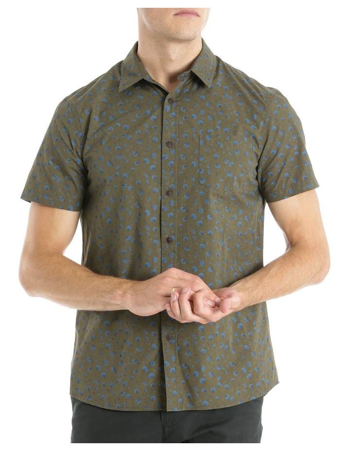 MAPLE FOREST SS PRINT SHIRT image 1