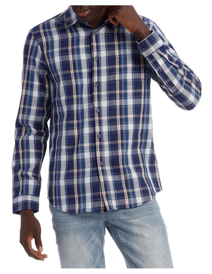 Keanu Long Sleeve Check Shirt image 1
