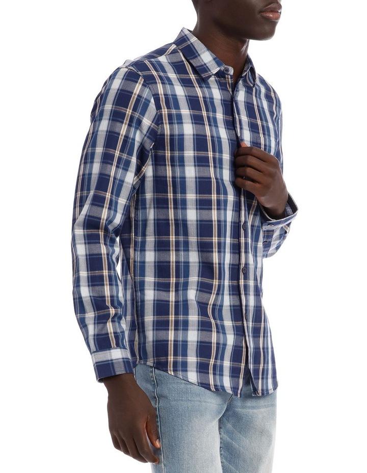 Keanu Long Sleeve Check Shirt image 2