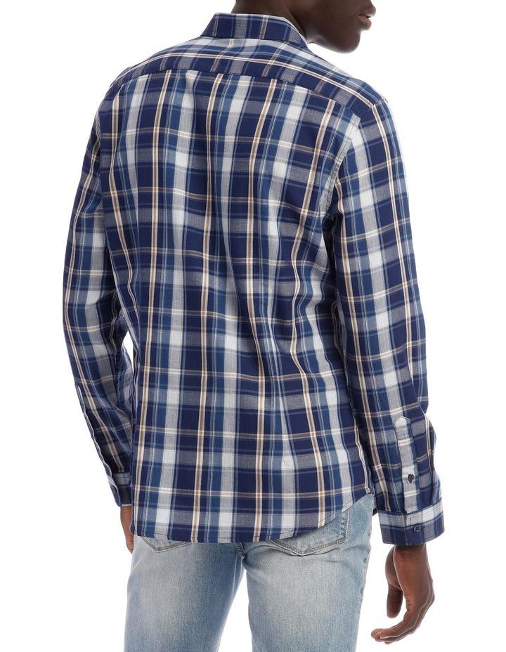 Keanu Long Sleeve Check Shirt image 3
