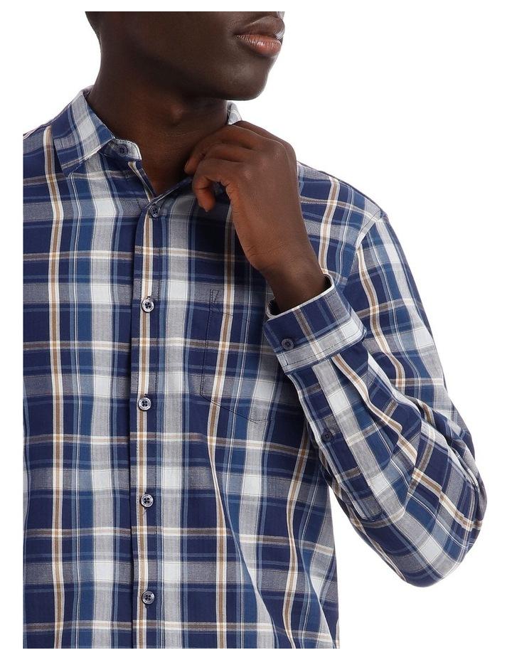 Keanu Long Sleeve Check Shirt image 4