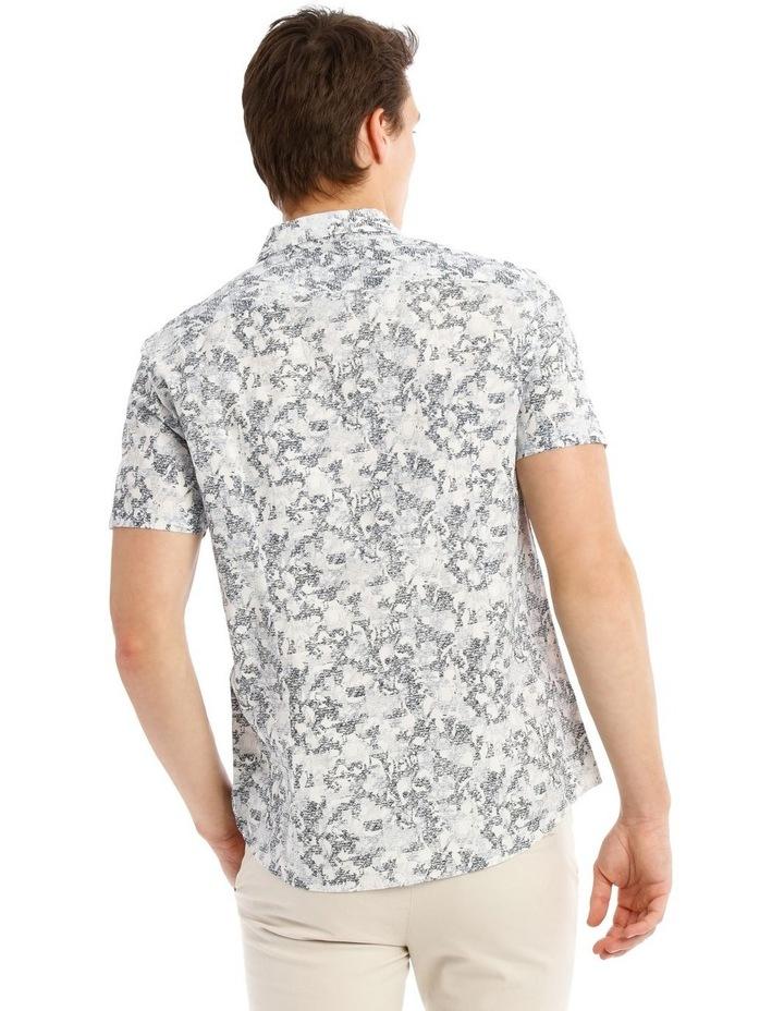 Indigo Safari Short Sleeve Print Shirt image 3