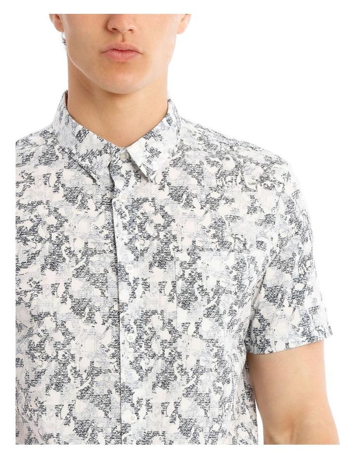 Indigo Safari Short Sleeve Print Shirt image 4