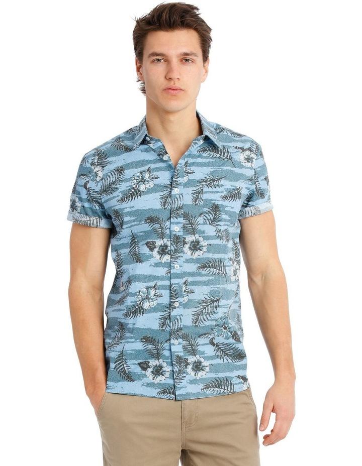 Stitch Short Sleeve Print Shirt image 1