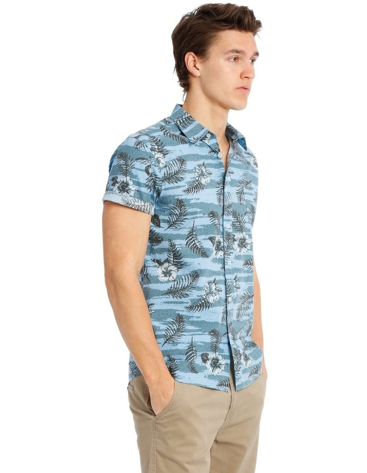Stitch Short Sleeve Print Shirt image 2