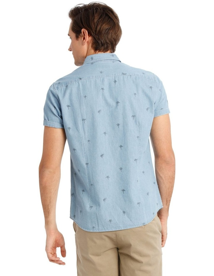 Sarabi Short Sleeve Denim Print Shirt image 3