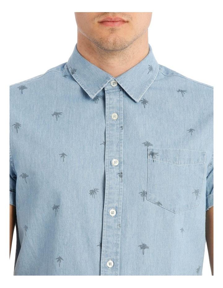 Sarabi Short Sleeve Denim Print Shirt image 4
