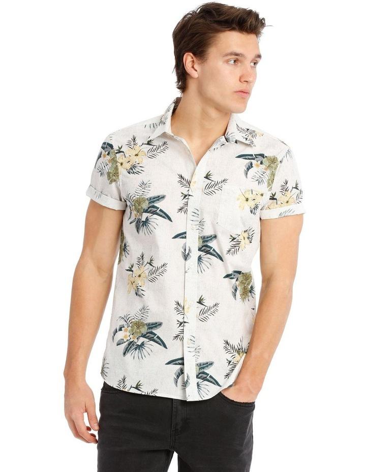 Serengeti Short Sleeve Resort Print Shirt image 1