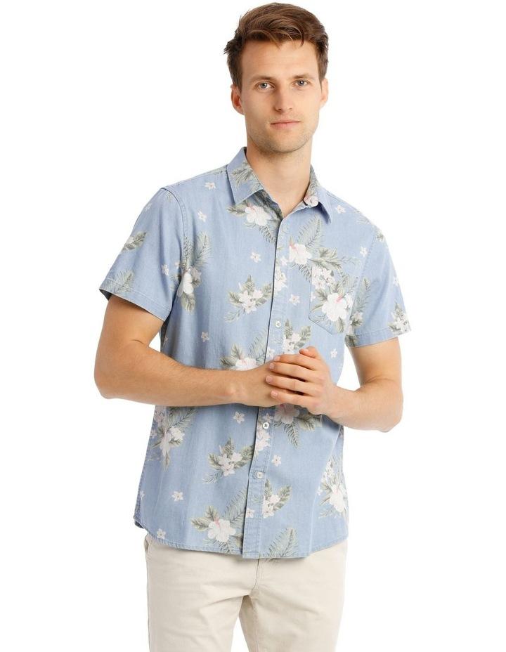 Fanning Short Sleeve Resort Print Shirt image 1