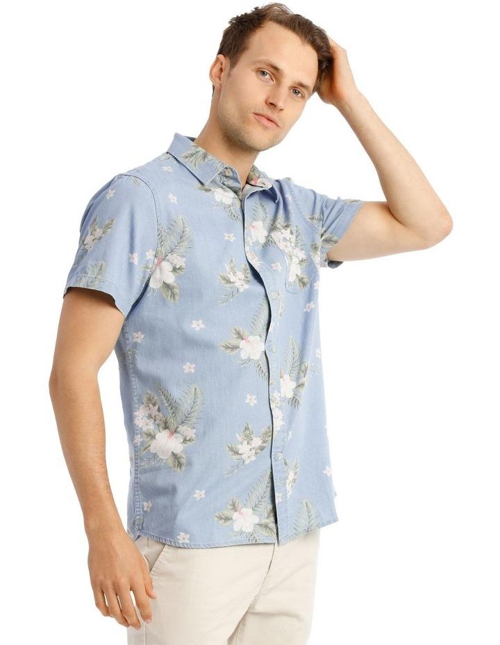 Fanning Short Sleeve Resort Print Shirt image 2