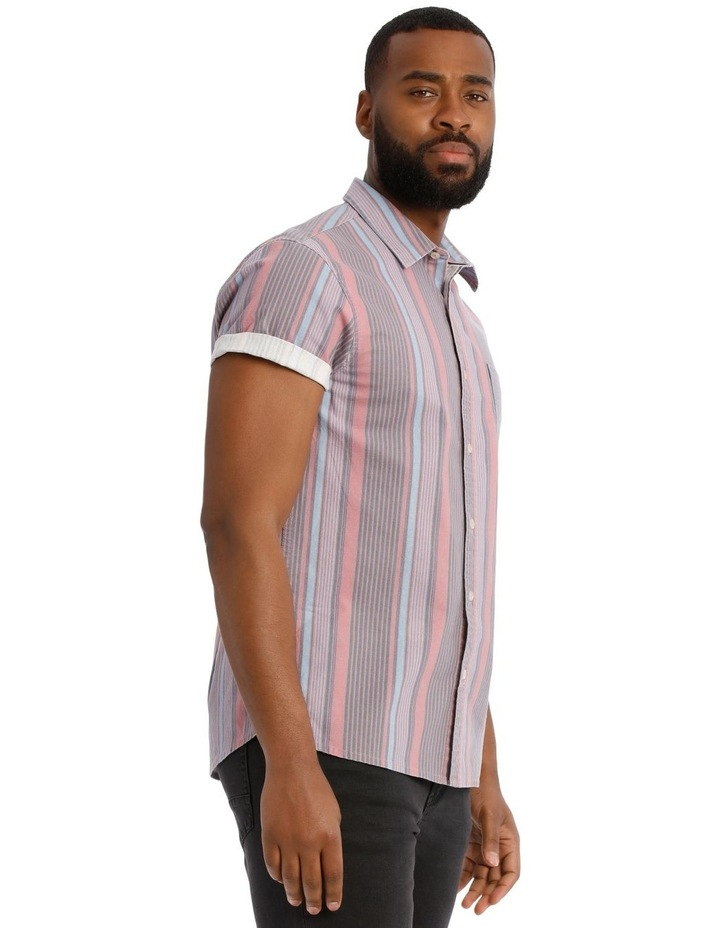 Beam Short Sleeve Stripe Shirt image 2