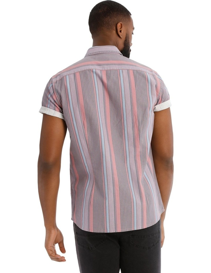 Beam Short Sleeve Stripe Shirt image 3