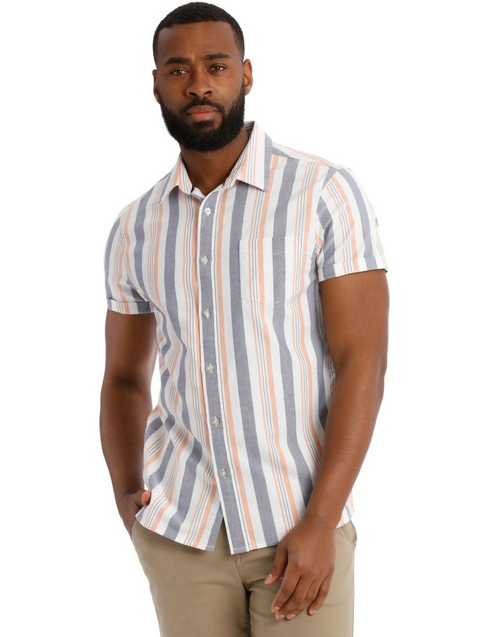 Ray Short Sleeve Stripe Shirt image 1