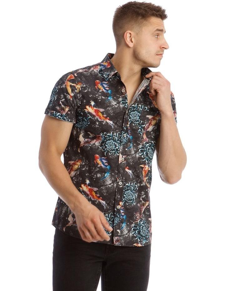 Jamaica Short Sleeve Resort Print Shirt image 2